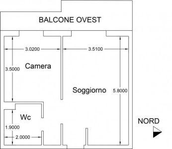 planimetria Appartamento Vendita Aprica