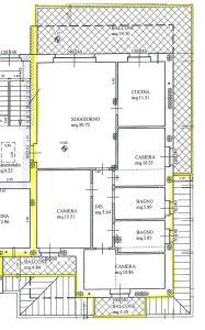 planimetria Appartamento Vendita Arconate