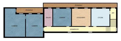 planimetria Appartamento Vendita Arzergrande