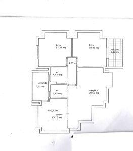 planimetria Appartamento Vendita Aversa
