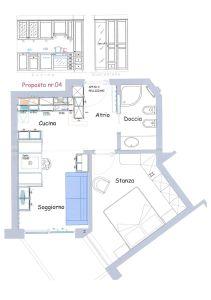 planimetria Appartamento Vendita Badia