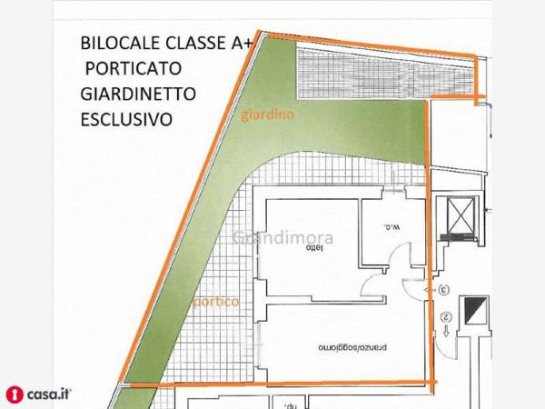 foto planimetria Bilocale via Palma Il Vecchio, Bergamo
