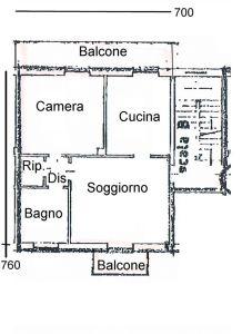 planimetria Appartamento Vendita Bianzè