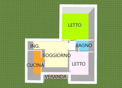 planimetria Appartamento Vendita Bosaro