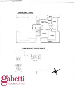 planimetria Appartamento Vendita Bra