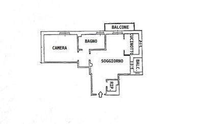 planimetria Appartamento Vendita Bresso