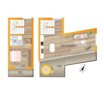 planimetria Appartamento Vendita Brunico