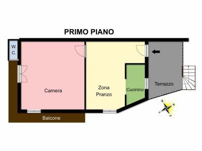 planimetria Appartamento Vendita Brusson