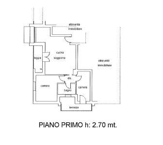 planimetria Appartamento Vendita Caerano di San Marco