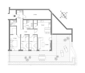 planimetria Appartamento Vendita Campo Tures