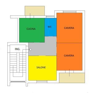planimetria Appartamento Vendita Cardito
