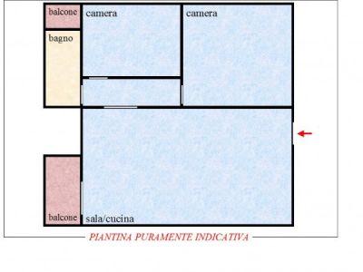 planimetria Appartamento Vendita Casaleggio Novara