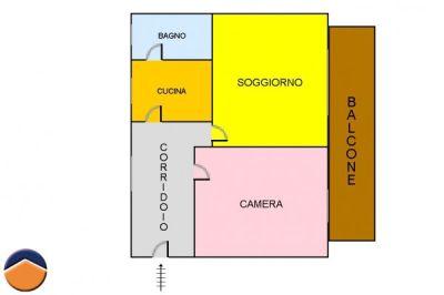 planimetria Appartamento Vendita Casoria