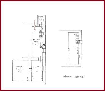 planimetria Appartamento Vendita Castel San Pietro Romano