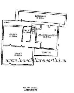 planimetria Appartamento Vendita Castel Vittorio