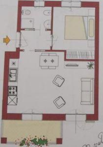 planimetria Appartamento Vendita Castellaro