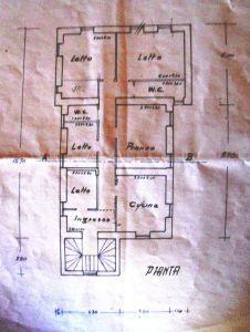 planimetria Appartamento Vendita Cave