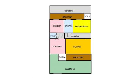 planimetria Appartamento Vendita Cercola