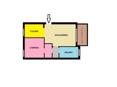 planimetria Appartamento Vendita Cernusco sul Naviglio