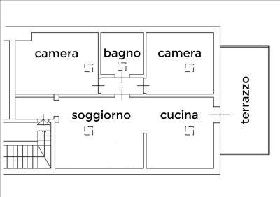 planimetria Appartamento Vendita Chieri