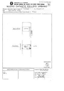 planimetria Appartamento Vendita Cormano