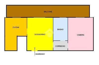 planimetria Appartamento Vendita Cornaredo