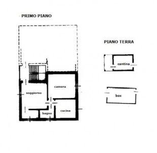 planimetria Appartamento Vendita Crespino