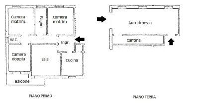 planimetria Appartamento Vendita Crevalcore