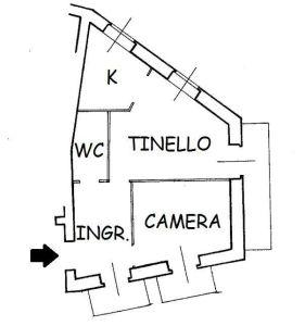 planimetria Appartamento Vendita Demonte