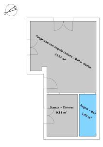 planimetria Appartamento Vendita Egna