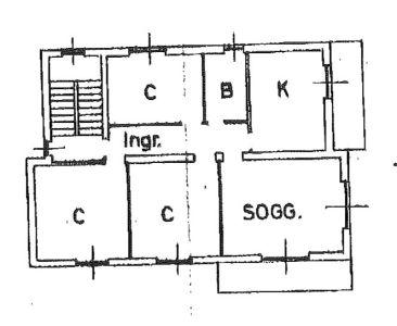 planimetria Appartamento Vendita Erba