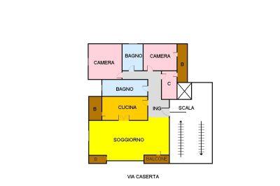 planimetria Appartamento Vendita Erice