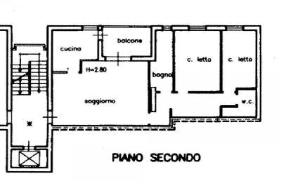 planimetria Appartamento Vendita Fano