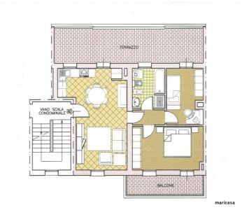 planimetria Appartamento Vendita Ferrara