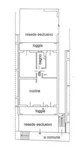 planimetria Appartamento Vendita Figline e Incisa Valdarno