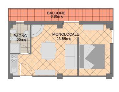planimetria Appartamento Vendita Filettino