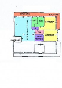 planimetria Appartamento Vendita Foggia