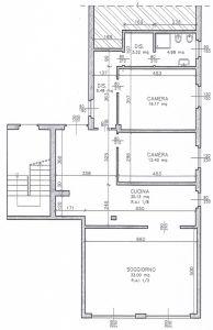 planimetria Appartamento Vendita Fornovo San Giovanni