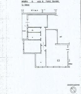 planimetria Appartamento Vendita Frascati