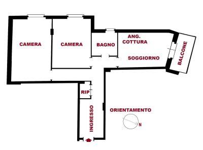 planimetria Appartamento Vendita Genova