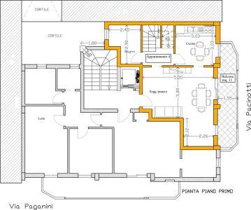 foto  Quadrilocale via Niccolò Paganini, Grottaglie