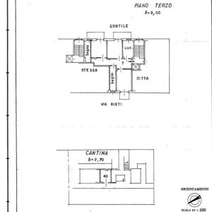planimetria Appartamento Vendita Grugliasco