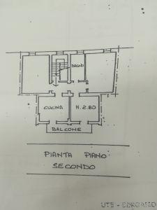 planimetria Appartamento Vendita Grumello del Monte