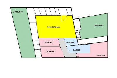 planimetria Appartamento Vendita Isola Vicentina