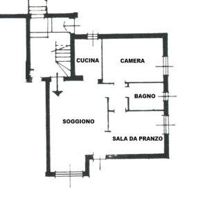planimetria Appartamento Vendita La Magdeleine