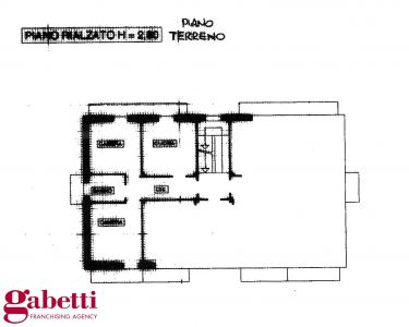 planimetria Appartamento Vendita La Morra