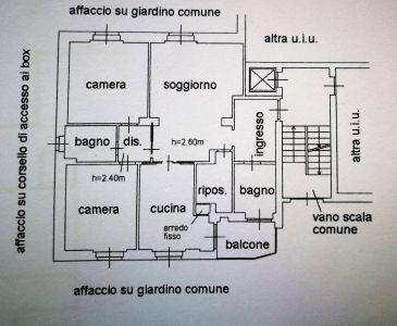 planimetria Appartamento Vendita Lodi
