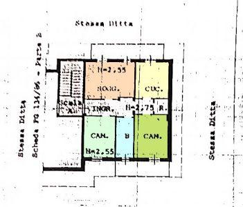 planimetria Appartamento Vendita Manta
