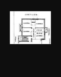 planimetria Appartamento Vendita Mantova