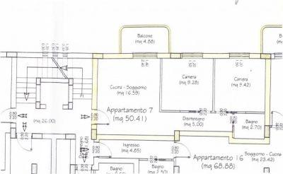 planimetria Appartamento Vendita Marina Di Gioiosa Ionica